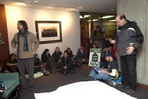 City Hall Emergency Shelter Feb 15 2013 5