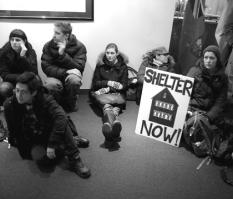 City Hall Emergency Shelter 2013