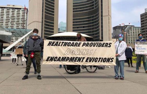 Stop Encampment Evictions